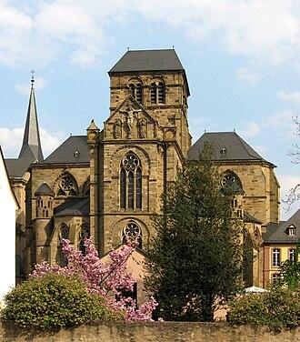 Liebfrauenkirche, Trier - Image: Trier Innenstadt 3