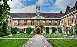Trinity Hall, Cambridge's Front Court