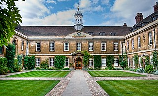 Trinity Hall, Cambridge Constituent college of the University of Cambridge in England