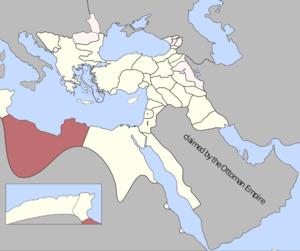 Ottoman Tripolitania - Image: Tripolitania Eyalet, Ottoman Empire (1795)