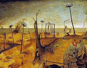 Lament for the Makaris - Breughel, The Triumph of Death (detail)