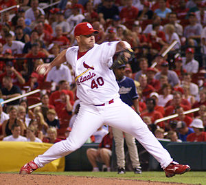 Troy Percival - Percival with the Cardinals in 2007