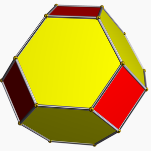 Uniform polytope - Image: Truncated octahedron