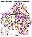 Tula oblast, Russia, regional planning map.jpg