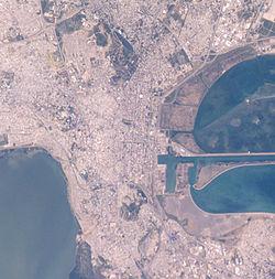 Τύνιδα, πρωτεύουσα της Τυνησίας.