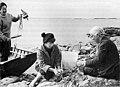 Tuulikki Pietilä Tove Jansson and Signe Hammarsten-Jansson 1956.jpeg