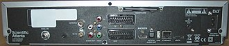 V+ - Scientific-Atlanta TVDrive rear panel