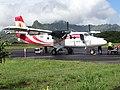 Twin Otter du gouvernement de la Polynésie française desservant Ua Pou.jpg