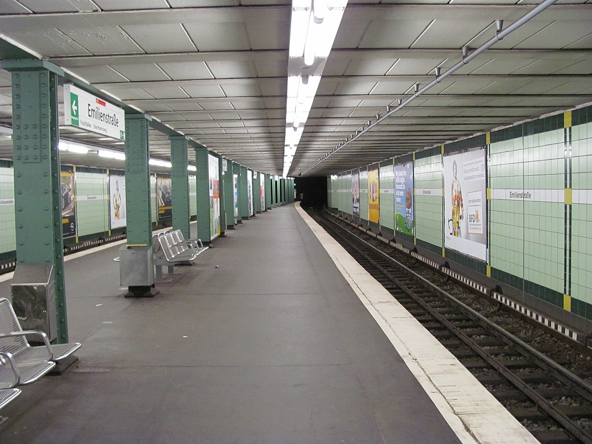 emilienstra e hamburg u bahn station wikipedia. Black Bedroom Furniture Sets. Home Design Ideas