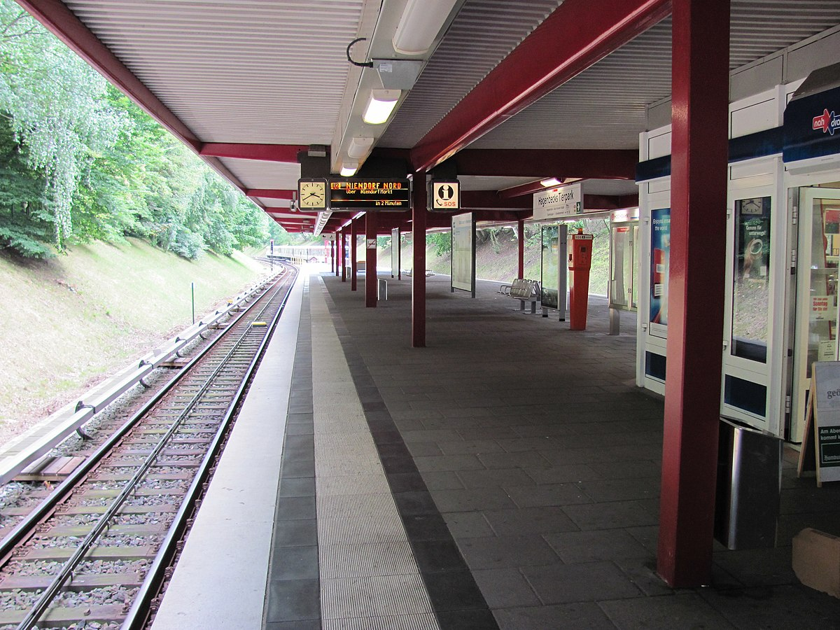 hagenbecks tierpark hamburg u bahn station wikipedia. Black Bedroom Furniture Sets. Home Design Ideas