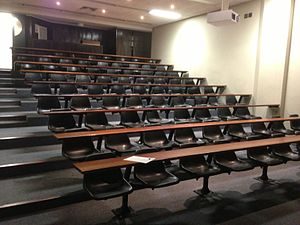 Classroom - A lecture classroom at the University of Cape Town
