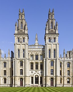 All Souls College, Oxford college of the University of Oxford