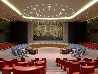 Salle du conseil en janvier 2014.