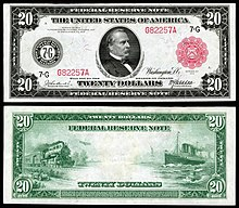 United States Twenty Dollar Bill Wikipedia