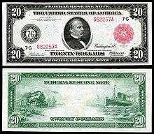 United States Twenty Dollar Bill