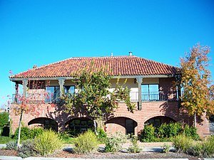 Almaden Valley, San Jose - The historic Old Almaden Winery was founded in 1852.