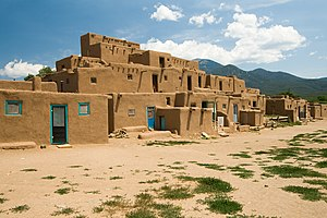 Pueblo Revolt - Taos Pueblo served as a base for Popé during the revolt.