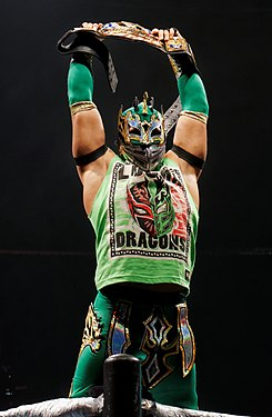 Kalisto als WWE United States Champion, 2016.
