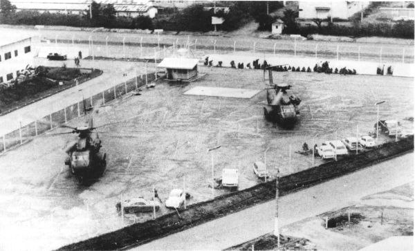 USMC CH-53s at DAO Compound LZ38