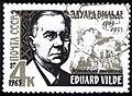 USSR stamp E.Vilde 1965 4k.jpg