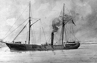 USS <i>Cayuga</i> (1861) Unadilla-class gunboat