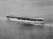 USS Langley (CV-1) underway in June 1927 (520809)
