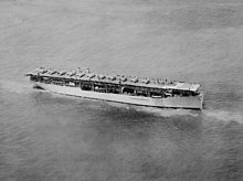 USS Langley (CV-1) underway in June 1927 (520809).jpg