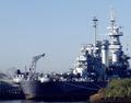 USS North Carolina, anchored in the Cape Fear River, Wilmington, North Carolina LCCN2011633368.tif