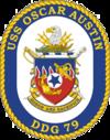 USS Oscar Austin DDG-79 Crest.png