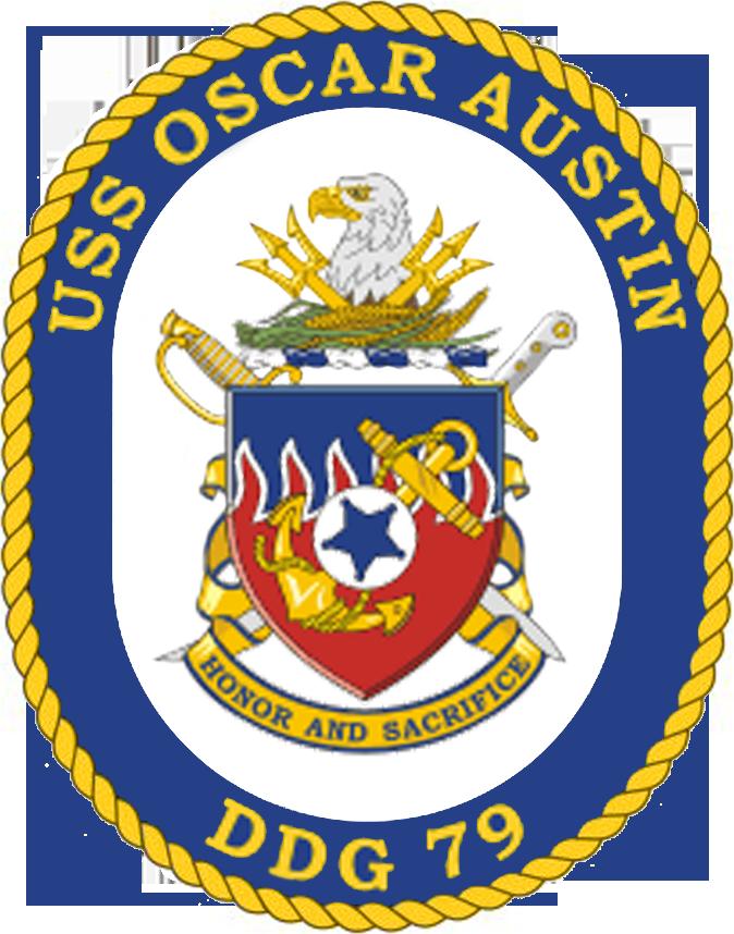 USS Oscar Austin DDG-79 Crest