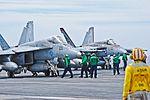 USS Ronald Reagan (CVN-76) - F-A-18E Super Hornet VFA-137 (14174301659).jpg