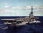 USS Shangri-La (CVA-38) aft view c1957.jpg