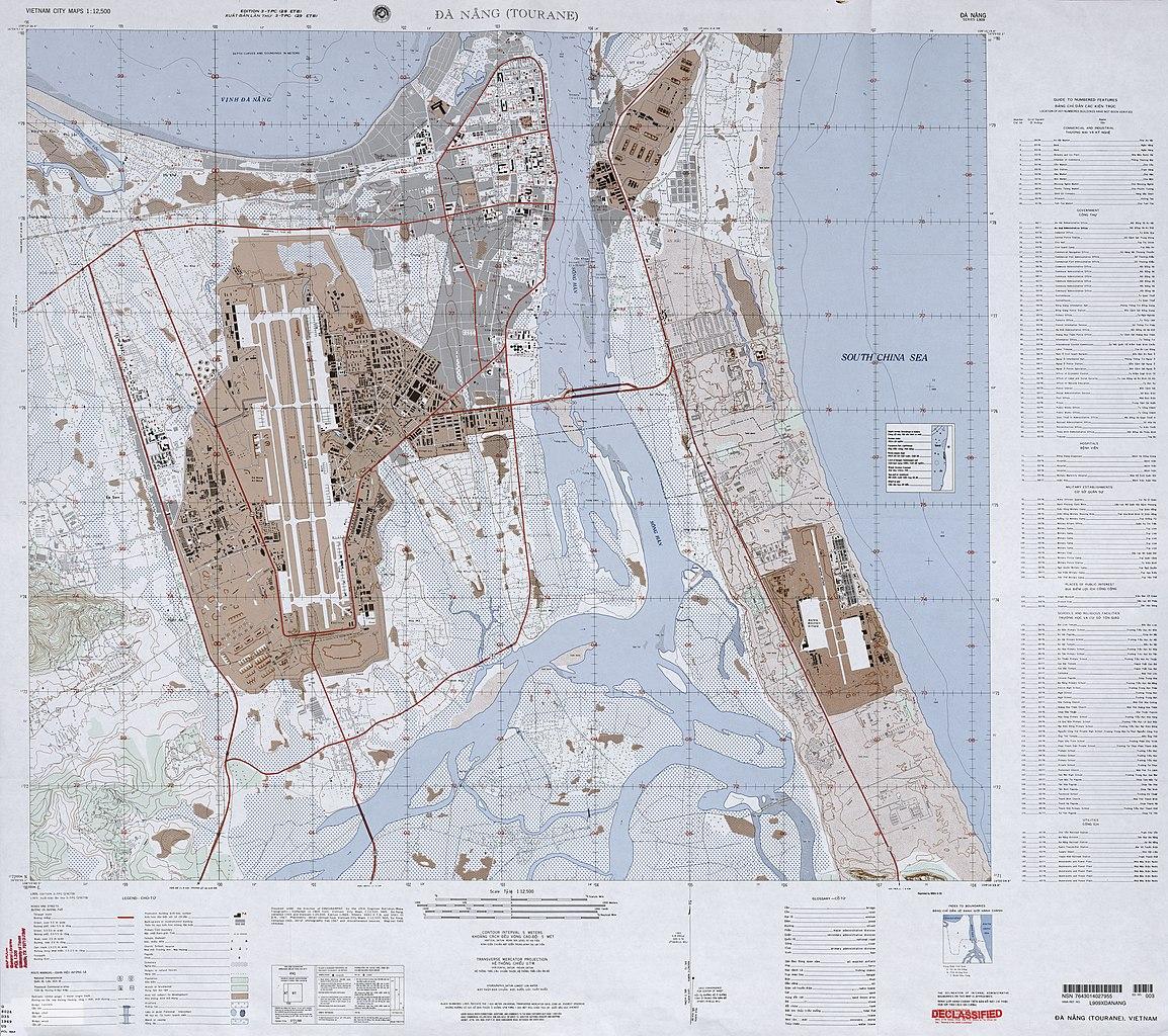 FileUS Army Map Da Nang Jpg Wikimedia Commons - Us army travel map