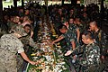 US Navy 051029-N-9222M-303 U.S Marines assigned to 31st Marine Expeditionary Unit (MEU) and Philippine Marines celebrate.jpg
