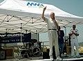 US Navy 080715-N-4021H-060 National Basketball Association legend, Bill Walton, thanks Sailors from the Nimitz-class aircraft carrier USS George Washington (CVN 73) for their service.jpg
