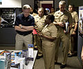 US Navy 100507-N-7227H-076 Secretary of the Navy Ray Mabus meets with Lt. Cmdr. Olivia Bethea to learn first-hand about marketing and advertising strategies for the Navy.jpg