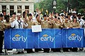 US Navy 100527-N-0246T-025 Sailors wave to the camera during a broadcast of the CBS morning news program, The Early Show, in New York during a Fleet Week New York 2010 event.jpg