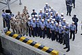 US Navy 110819-N-PY531-010 Republic of Korea sailors assemble to board the U.S. 7th Fleet command ship USS Blue Ridge (LCC 19) for a tour.jpg