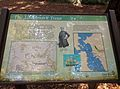 US Navy Captain Cadwalader Ringgold and Landmark Tree Information Display by East Bay Regional park for California Historical Landmark 962.jpg
