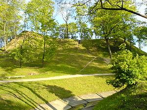 Ukmergė - A hill fort in Ukmergė's old town