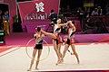 Ukraine Rhythmic gymnastics at the 2012 Summer Olympics (7916185316).jpg