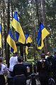 Ukrainian Delegation in Levashovo Memorial Cemetery 13.JPG