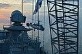 Ukrainian navy frigate Hetman Sahaydachniy and Ukrainian navy Ka-27 Helix helicopter (26951298985).jpg
