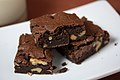 Ultimate Vegan Brownies with walnuts, mjune 2010.jpg