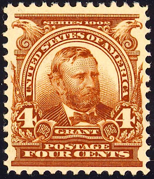 Ulysses S Grant 1903 Issue-4c
