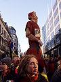 United Belgium Brussels demonstration 20071118 DMisson 00033 Belliard street Thyl Uilenspiegel giant.jpg