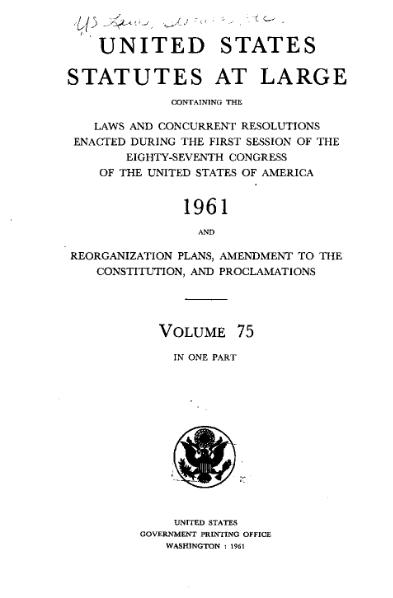 File:United States Statutes at Large Volume 75.djvu