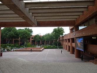 Universidad Iberoamericana - The university's main square