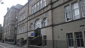 Dundee Law School - Facilities for postgraduates are located in the Old Technical Institute