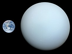 Uranus, Earth size comparison 2.jpg
